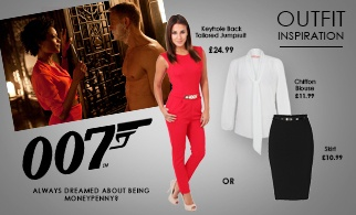 Outfit Inspo! James Bond Girl!