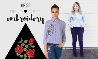 Spring Trend Alert: Embroidery