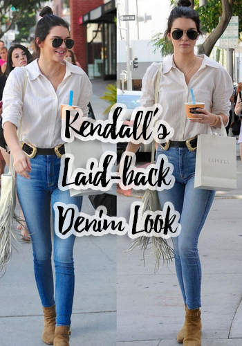 Kendall Jenner's Laid-Back Denim Look