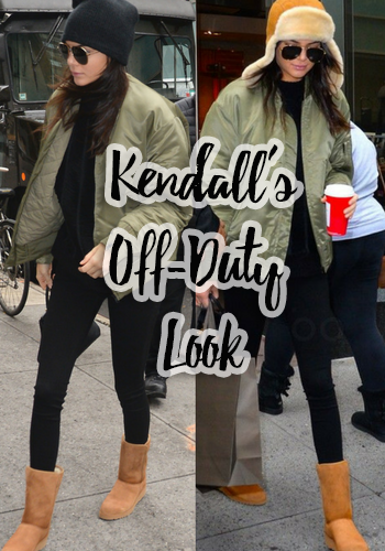 Kendall Jenner's Off Duty Look