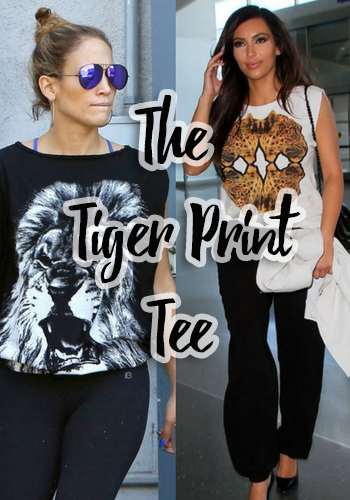The Tiger Print Tee