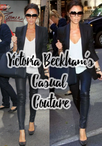 Victoria Beckham's Casual Couture
