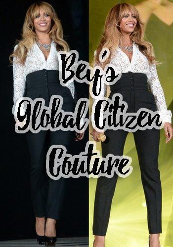 Bey's Global Citizen Couture