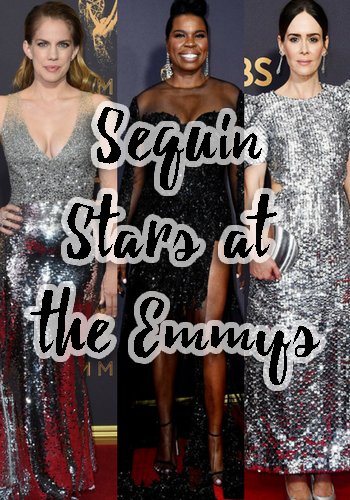 Sequin Stars at the Emmys