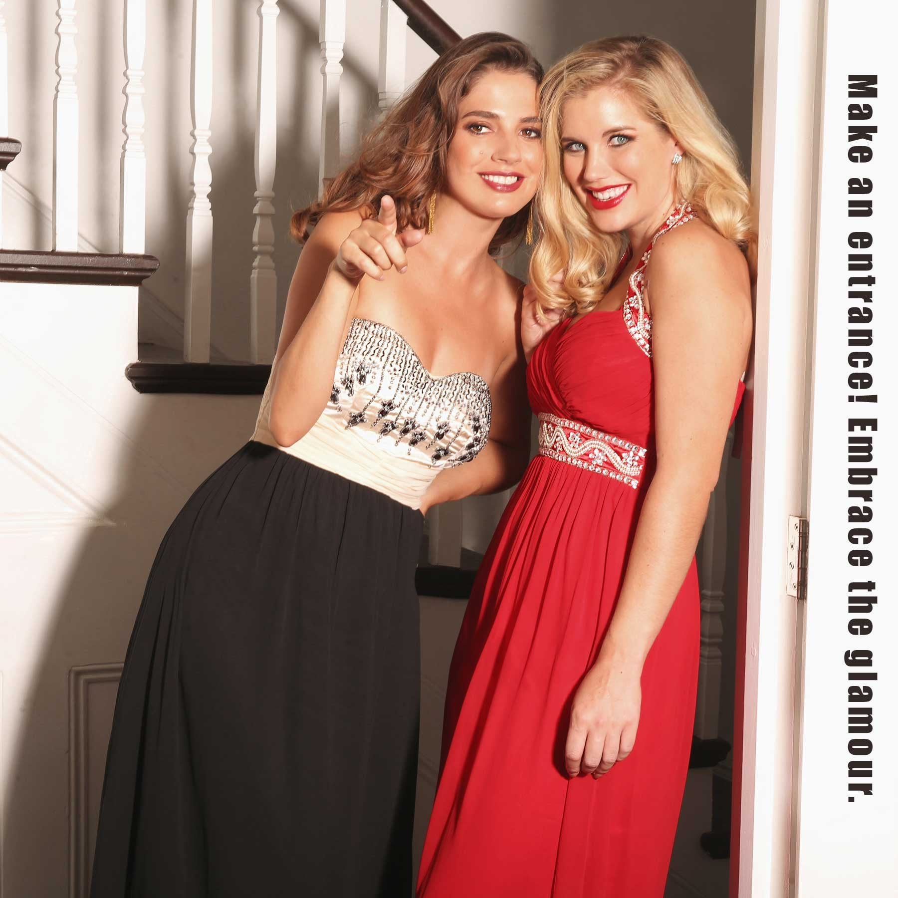 e6d8862da39 Make an entrance on the big night with our collection of stunning prom  dresses and eye-catching accesories. Let your outfit take the centre stage  and well ...