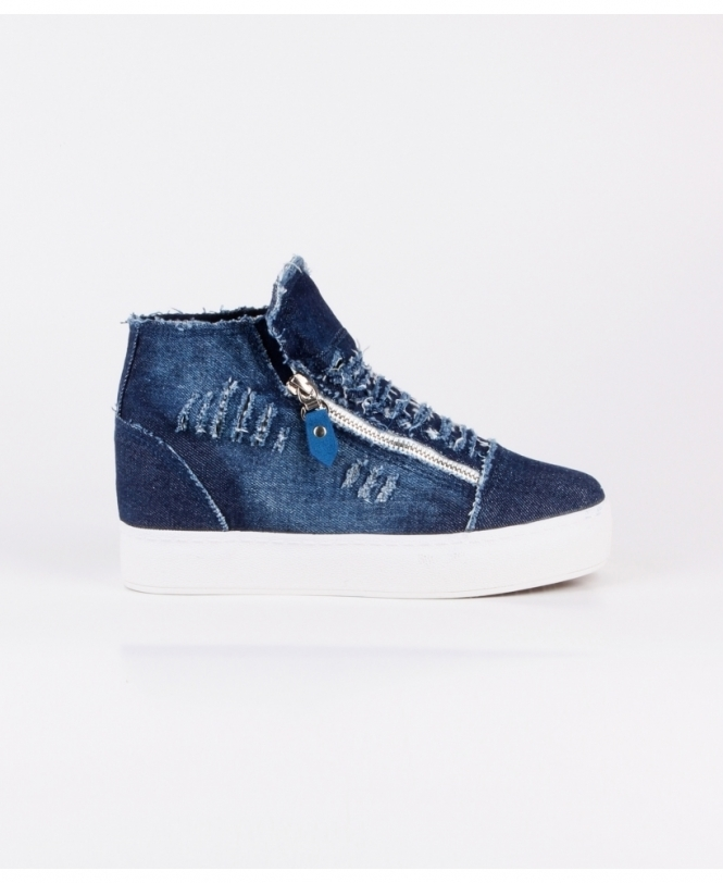 Shop For Womens Denim Trainers