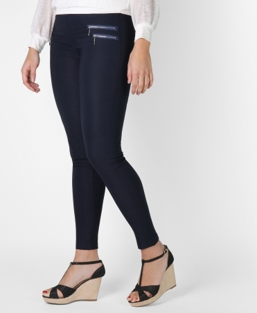 4 Zip Basic Jeggings