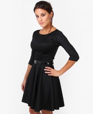 9188919099 3 4 Sleeve Belted Skater Dress SALE · Krisp BASICS ...
