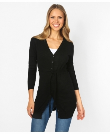 Cashmere Blend Two Pocket Cardigan