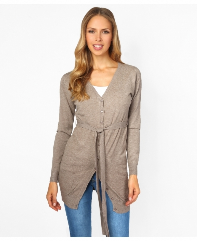 Krisp BASICS Cashmere Blend Two Pocket Cardigan