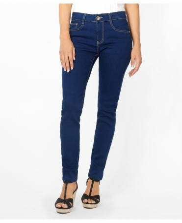 Dark Denim Basic Skinny Jeans