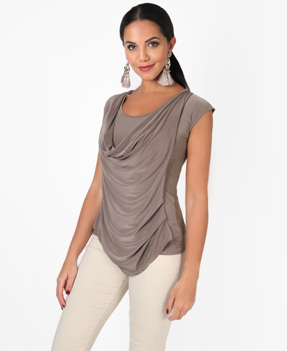 drapes tops kai top sleeveless lisa front by cashmere drape halter