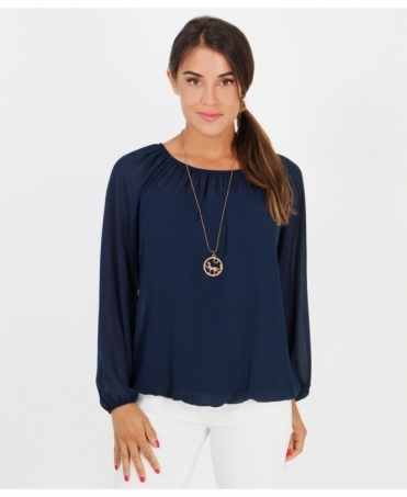 Off-Shoulder Neck Gypsy Blouse