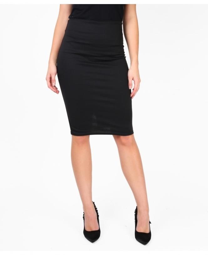 e266ff50a6fa Pencil Skirts | Ponte Knee Length Pencil Skirt | Krisp
