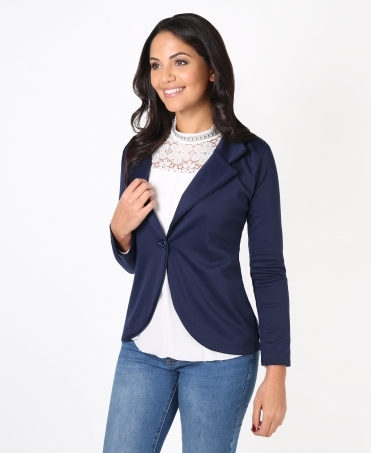 Ponte Tailored Work Blazer