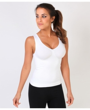 Ribbed Body Shaping Vest Top