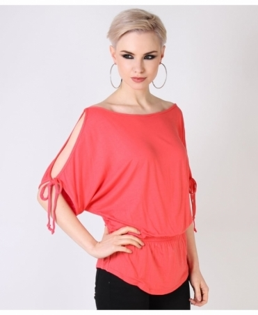 Split Sleeve Tunic Top