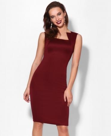 Square Neck Bodycon Midi Dress 118d1804e