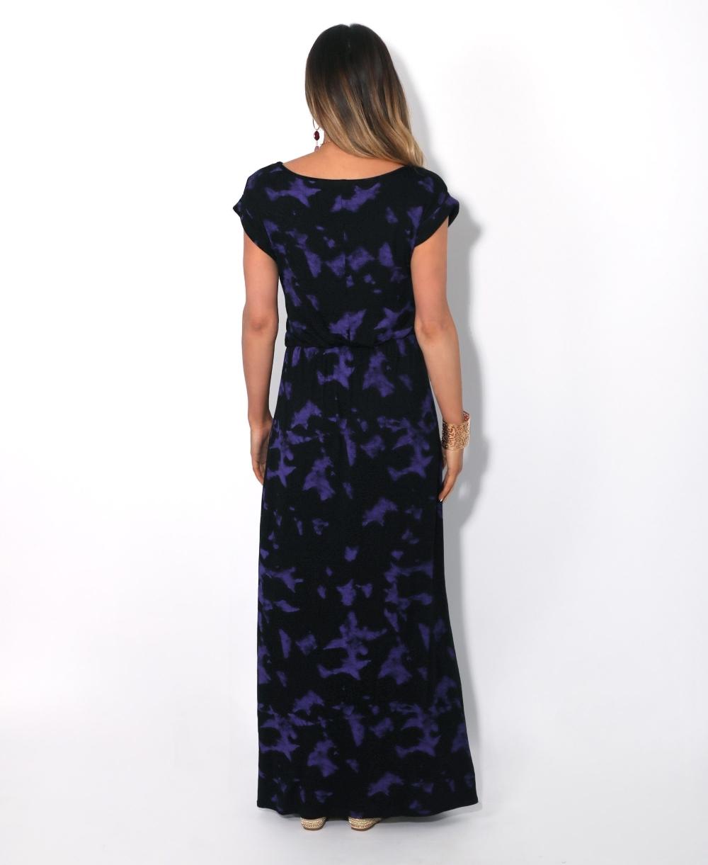 93b9f5ce5e8570 Tie Dye Jersey Maxi Dress