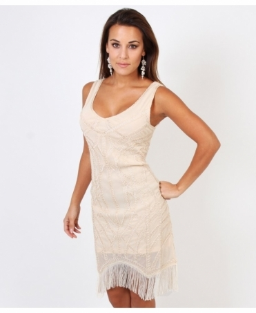 Beaded Swing Flapper Dress