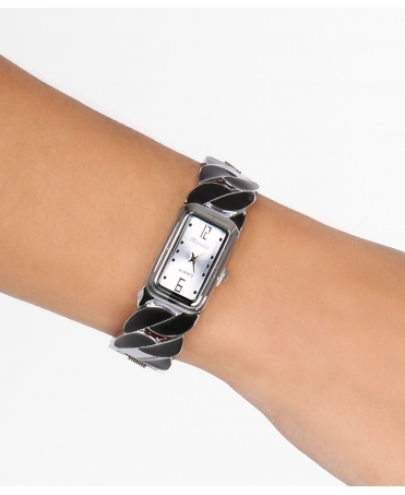 Chain Bracelet Rectangular Watch