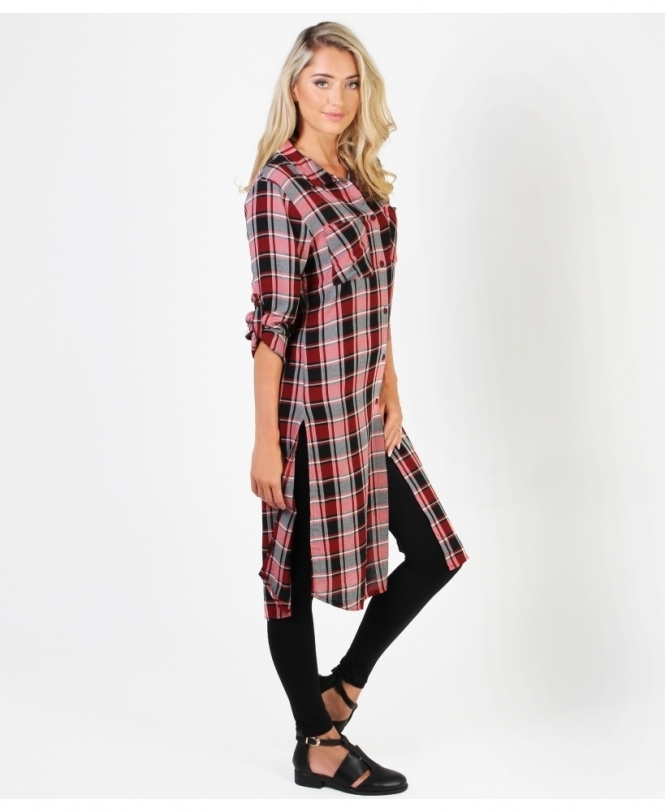 b59d26ce14f7 Shop For Checked Shirt Dresses