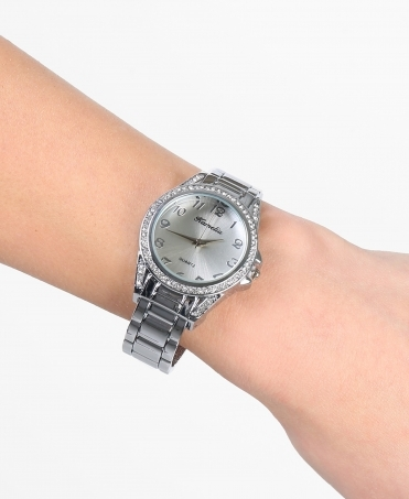 Chunky Bracelet Round Face Watch