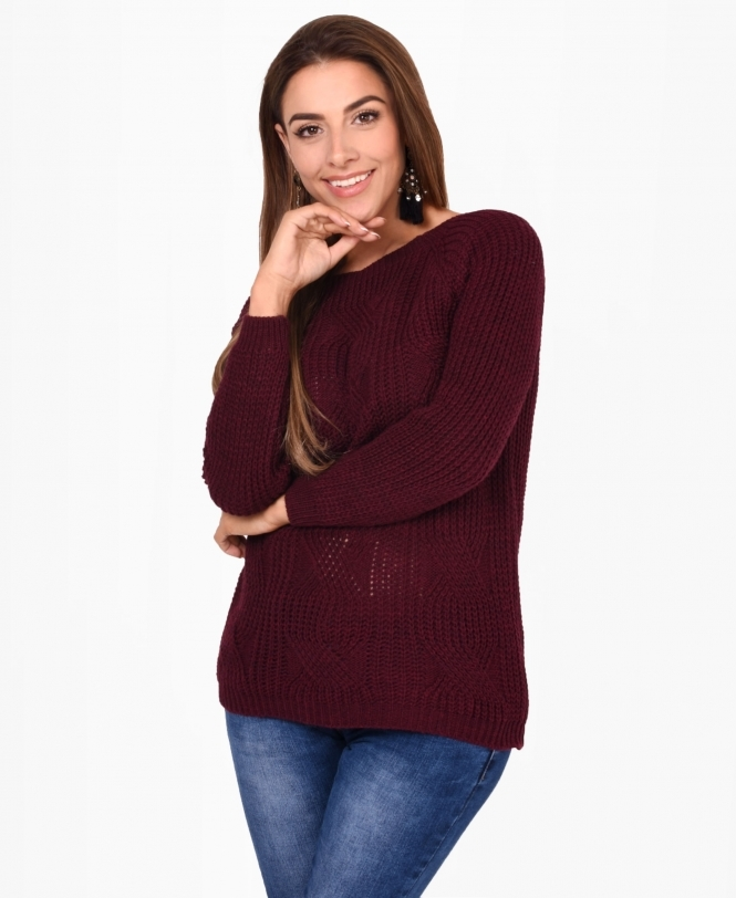 KRISP Chunky Cable Knit Jumper