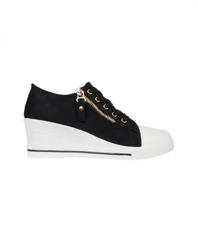 Sale Item Wedge Heeled Low Top Trainers