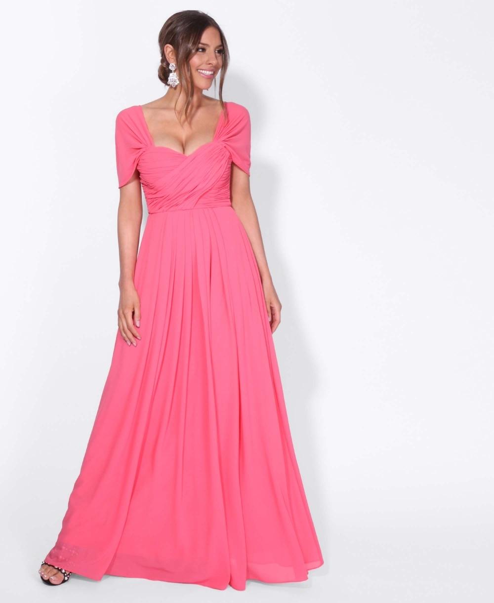 712238e1 Prom Dresses | Cross Pleats Maxi Prom Dress | KRISP