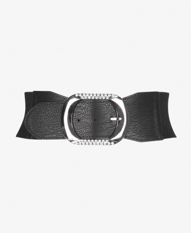KRISP Diamante Buckle Waist Belt