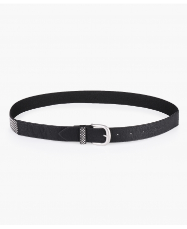 Diamante Embellished Buckle Belt