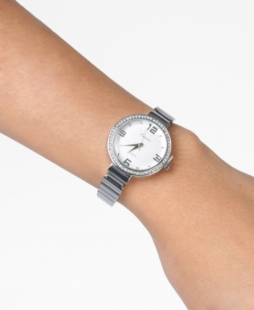 Diamante Face Dress Watch