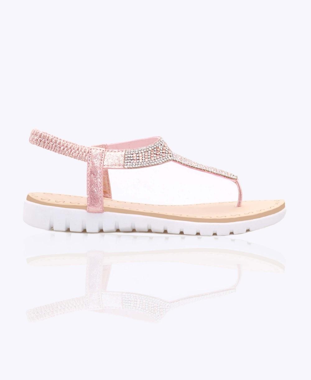 01f27ef1fed7f Sandals   Diamante Jewelled Beach Sandals   Krisp