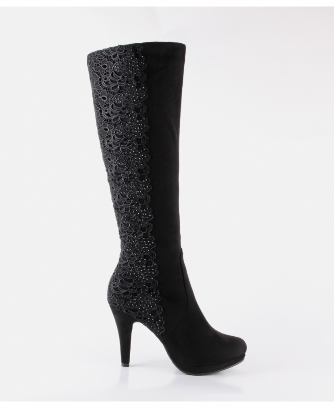 39a8c170702 Shop For Black Knee High Boots