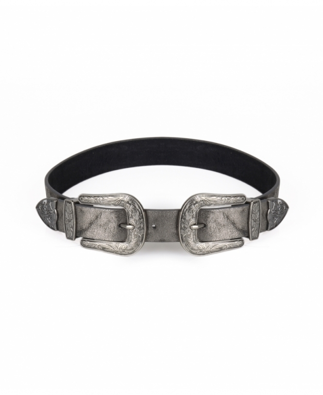 KRISP Double Buckle Western Belt