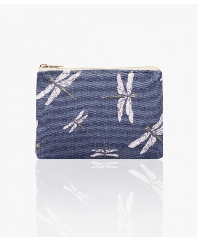 KRISP Dragonfly Canvas Small Coin Purse