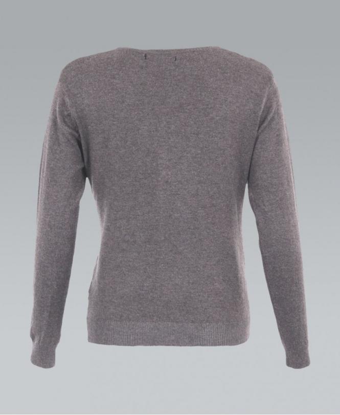 173062fe94 KRISP Fine Knit Button Up Plain Grey Cardigan - Womens from Krisp ...
