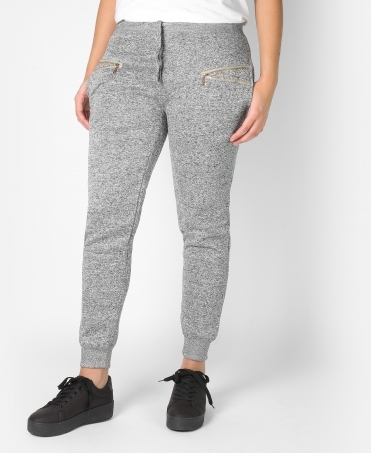 Fleece Lined Gemmed Sweat Pants