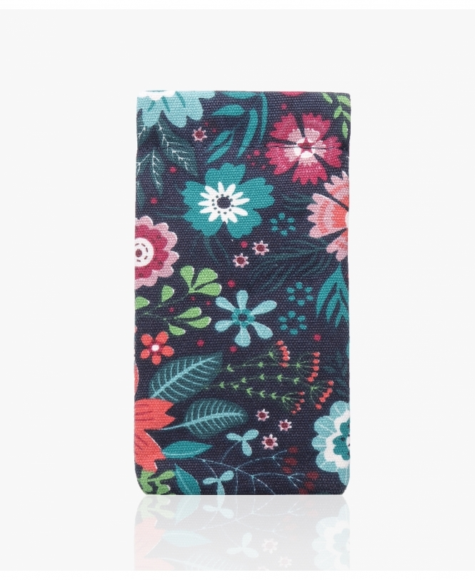 KRISP Floral Canvas Glasses Pouch