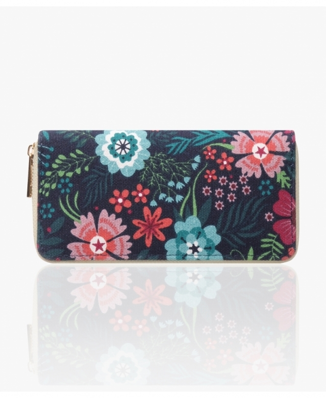 KRISP Floral Canvas Money Wallet