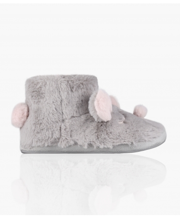 Fluffy Rabbit Slipper Boots