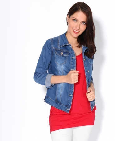 Four Pocket Denim Jacket