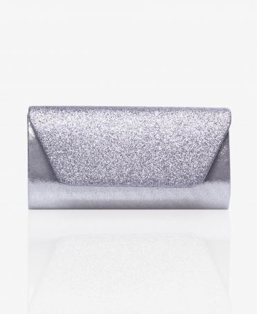 Glitter Flap Small Clutch Bag