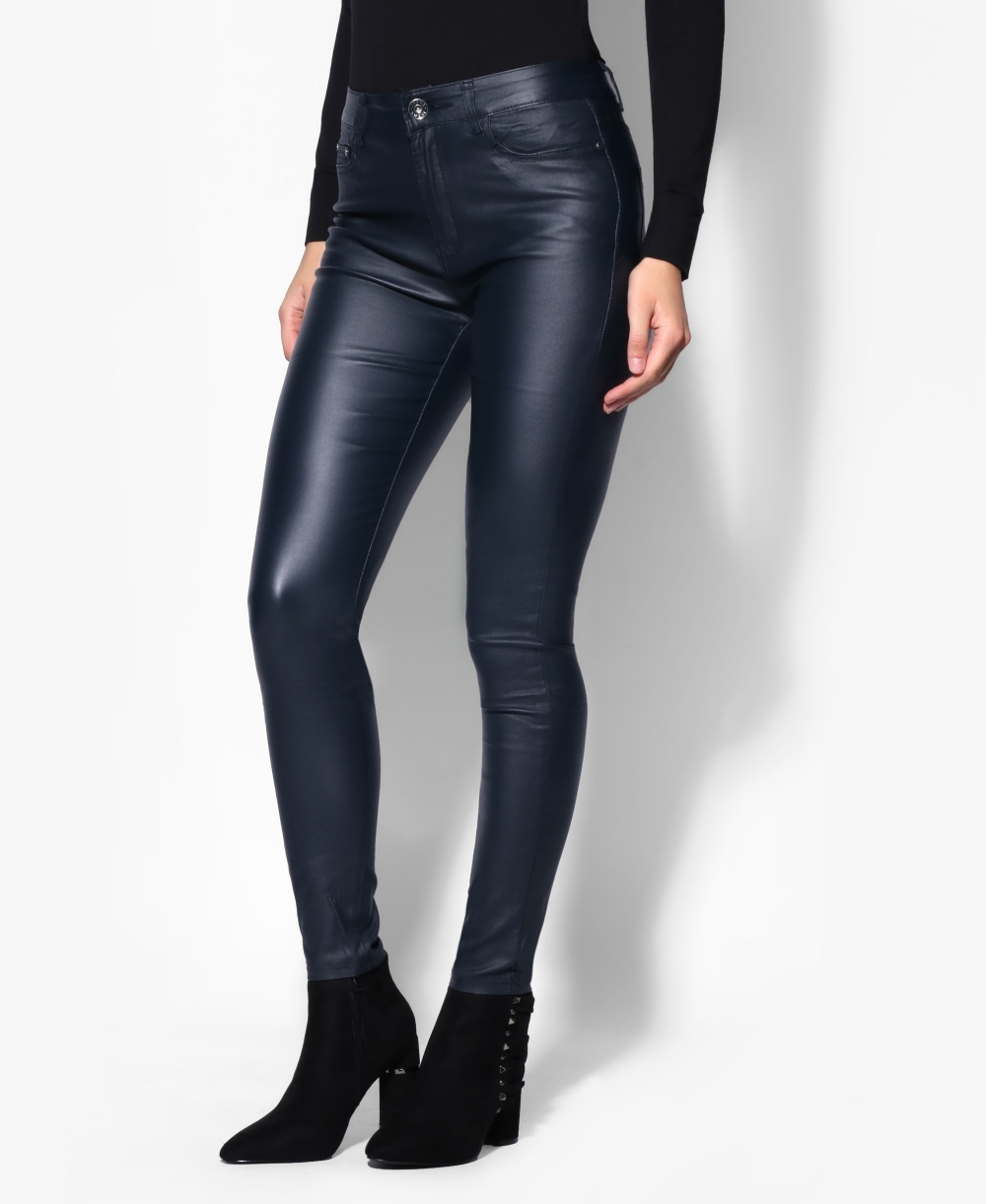2833cfc25a3c Leather Trousers | Leather Look Skinny Trousers | KRISP