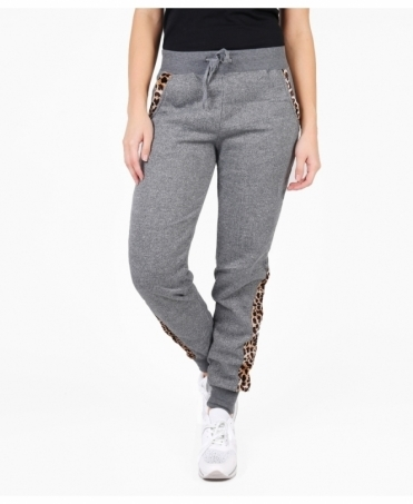 Leopard Insert Tracksuit Trousers