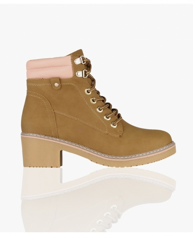 KRISP Low Heel Worker Boots
