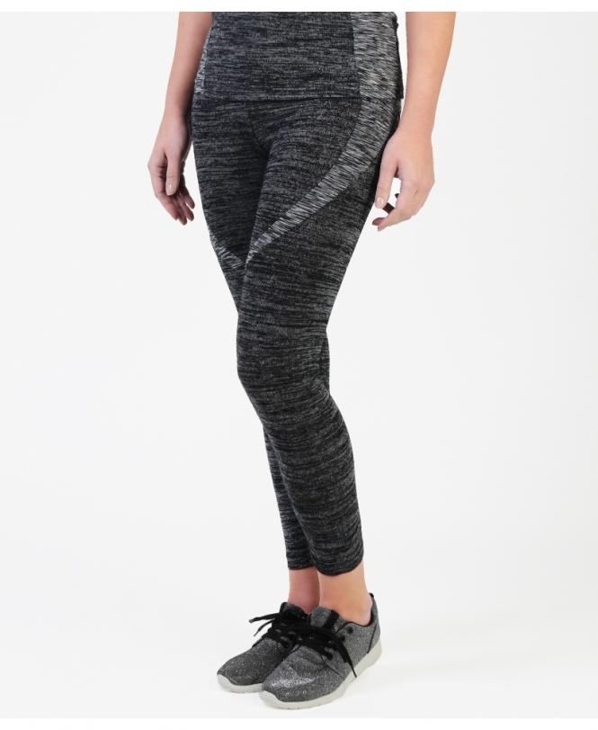 1718e825b2a54 Active Wear   Marl Print Grey Sports Leggings   Krisp