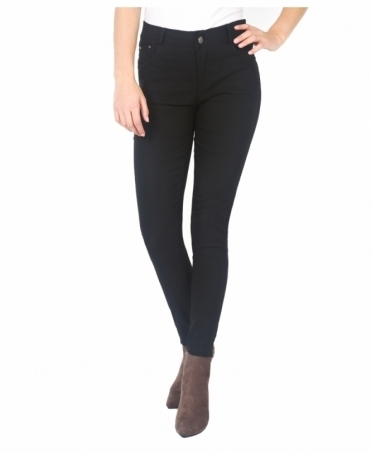 Mid Rise Basic Skinny Trousers