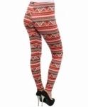 aaee2ca34a8f5 KRISP Multi Colour Tribal Printed Leggings
